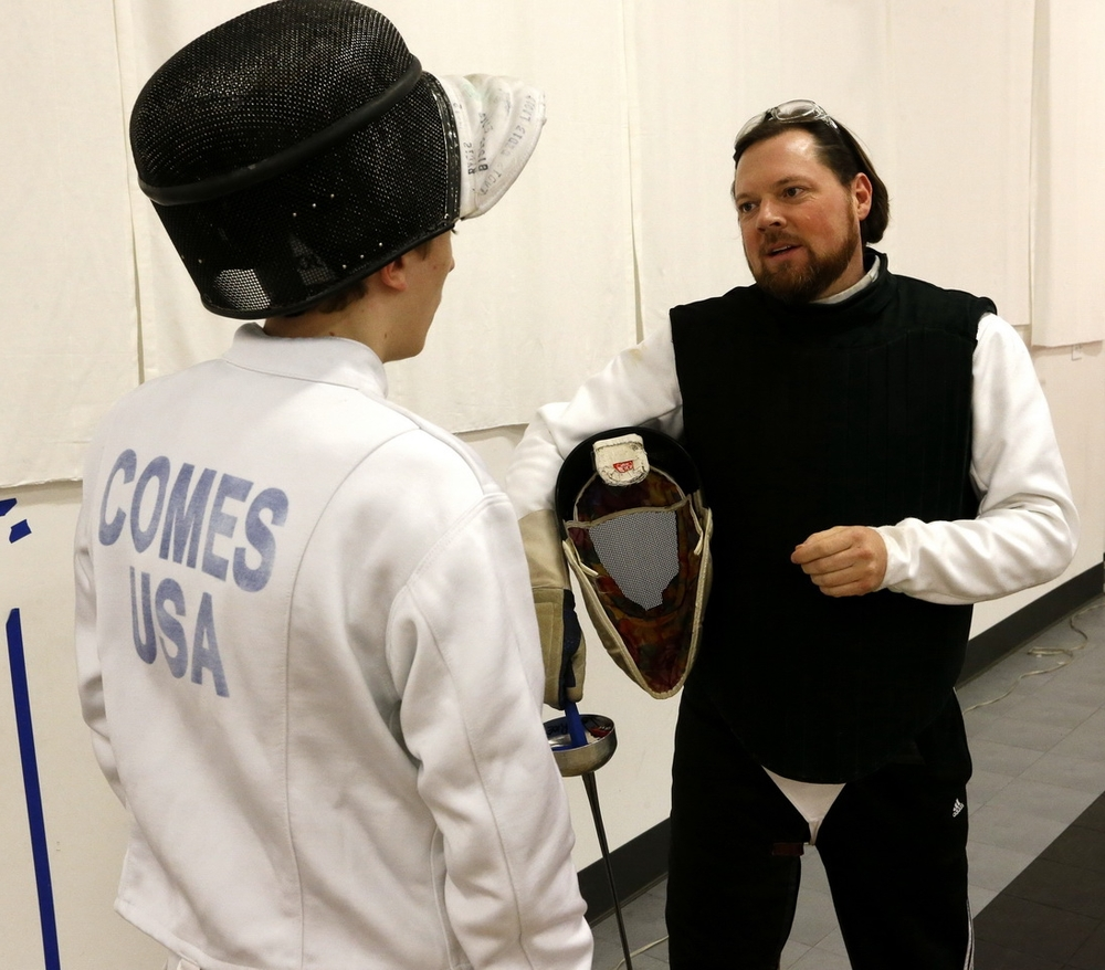 Private lessons can really help you improve your fencing skills and competitive edge, once you're ready to move to the next level.