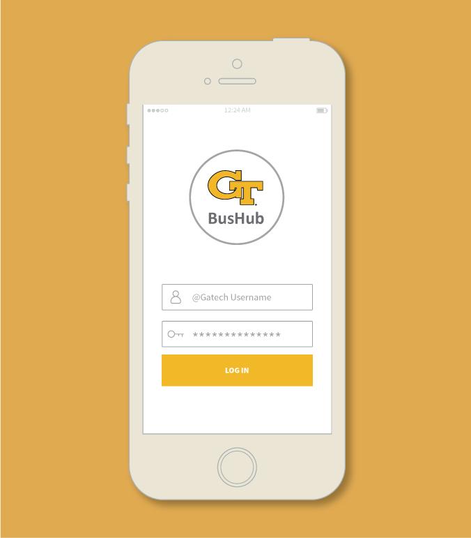 GT BUS HUB:  A mobile app solution to a service design dilemma.