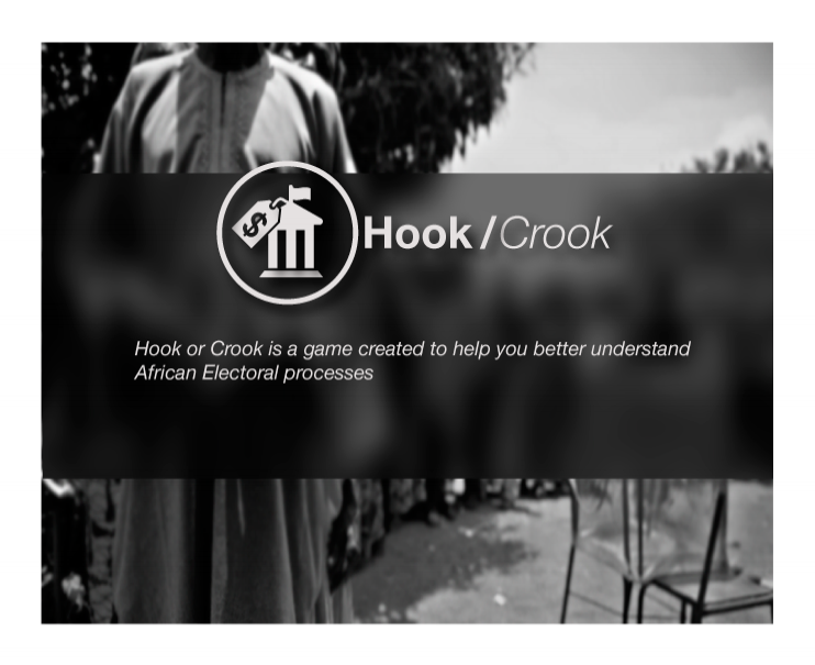 HOOK OR CROOK:  A web-based game exploring the principles of Interaction Design.