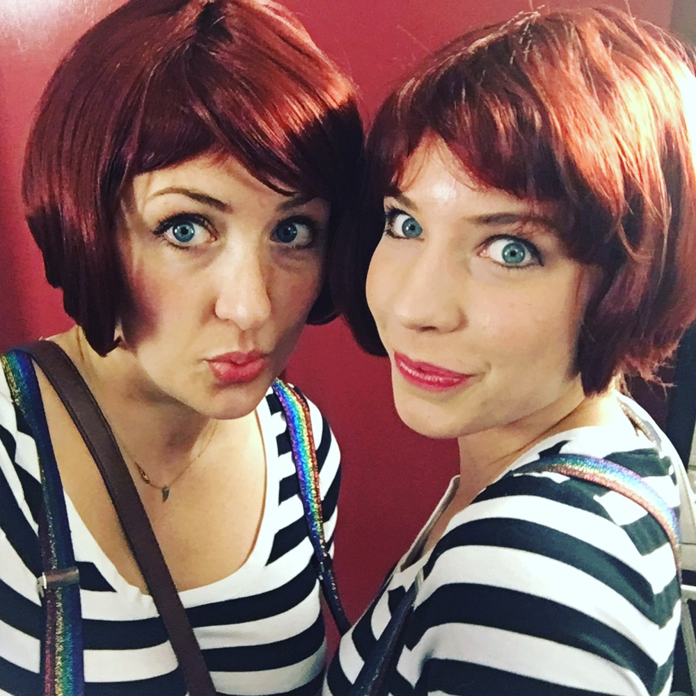 The twins, ready to take Fringe by storm!