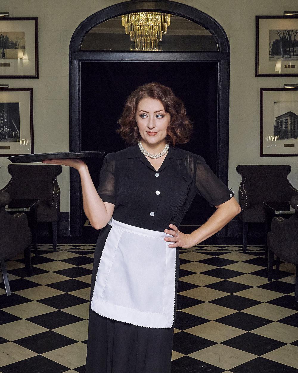 Sassy waitress