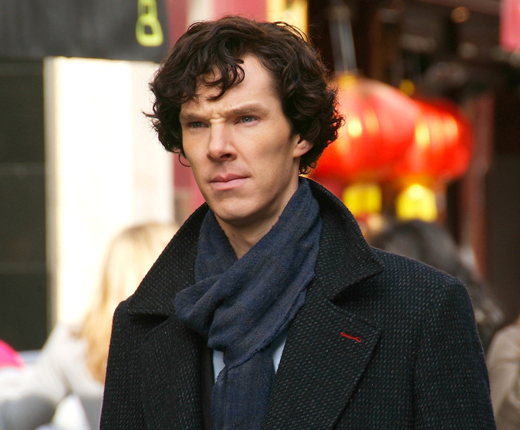 Sherlock contemplating the struggle. Photo credit: Flickr user bellaphon.