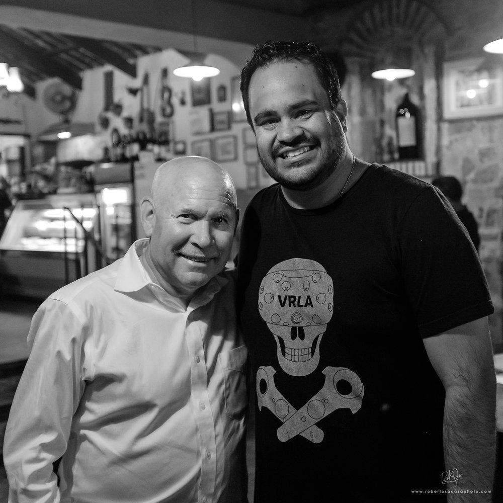 Steve McCurry y Roberto Sacasa