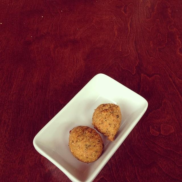 Best falafel balls around.