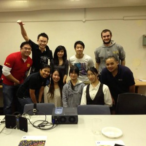 GKA volunteers and UNSW Students
