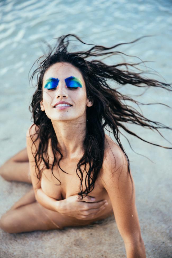 Model: Brittney Valverde, Hair/Makeup: Risa Hoshino, Photo+Styling: me