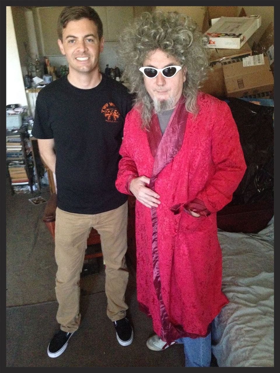 Gary Wilson and Anders Larsson in San Diego, 2014.