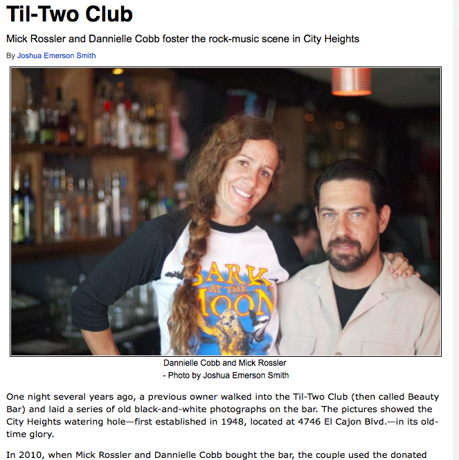 Click on the image above to see the complete Citybeat writeup on the Til Two Club