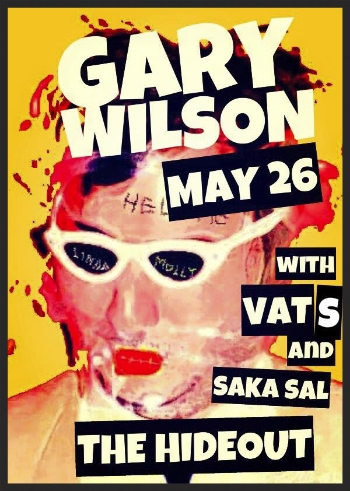 Catch me drumming at another unforgettable show with Gary Wilson and the Blind Dates