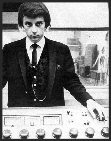 Phil Spector at the classic L.A. recording studio, Gold Star