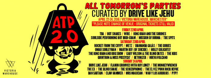 Drive Like Jehu's installment of ATP boasts an amazing and diverse lineup.