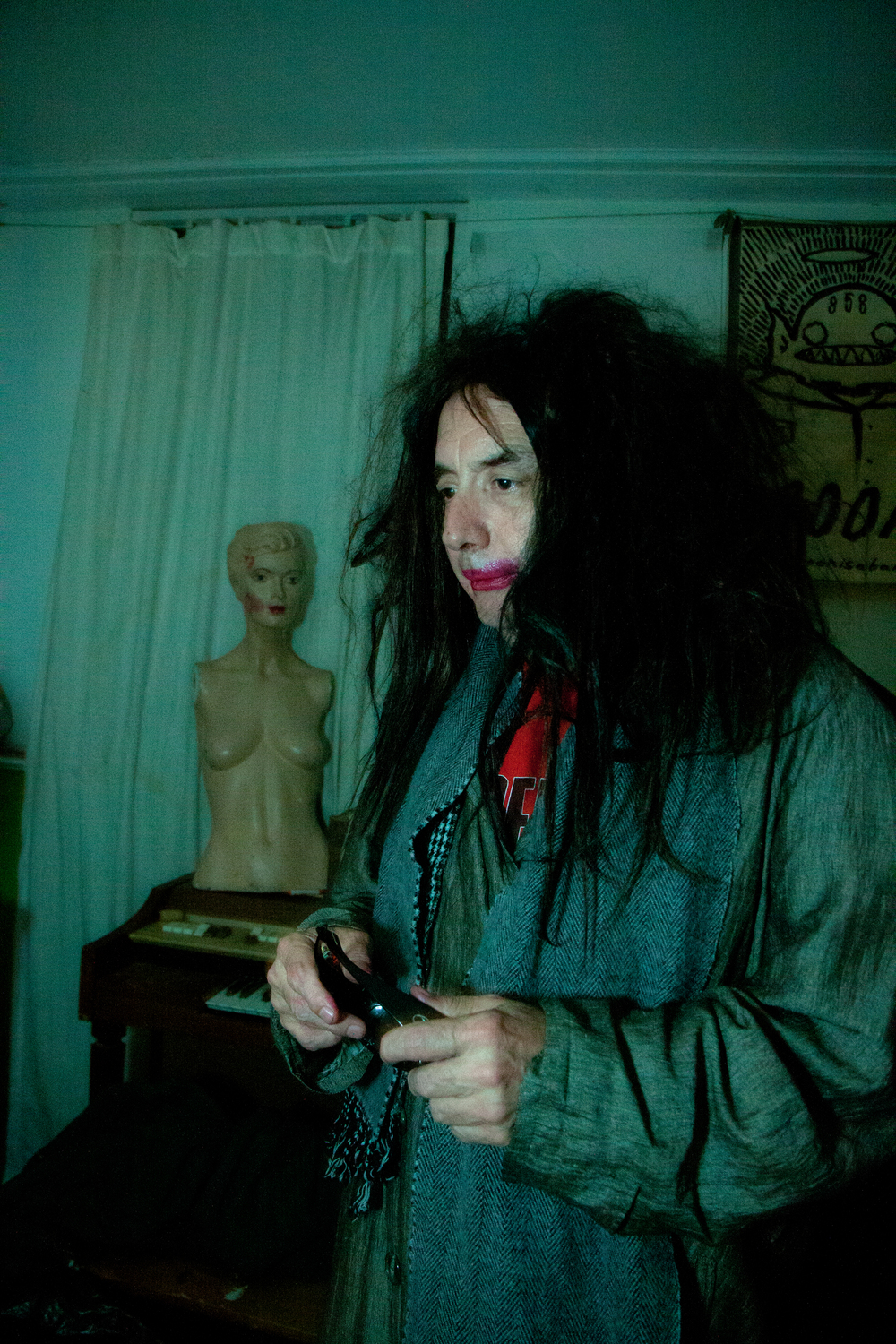 A thoughtful Gary Wilson. Photo: Leva Ann