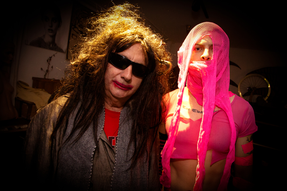 "Gary calls this one ""A Lonely Night in LA with Gary Wilson and Anders Larsson"". Photo: Leva Ann"