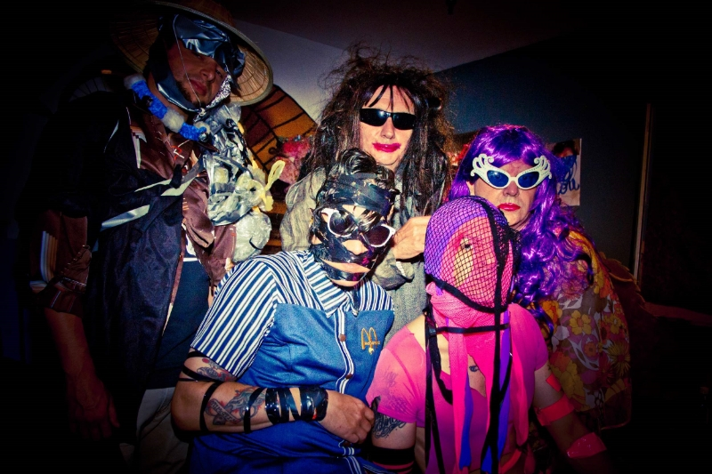 Gary Wilson and the Blind Dates at home in Southern California. Photo: Leva Ann, 2016