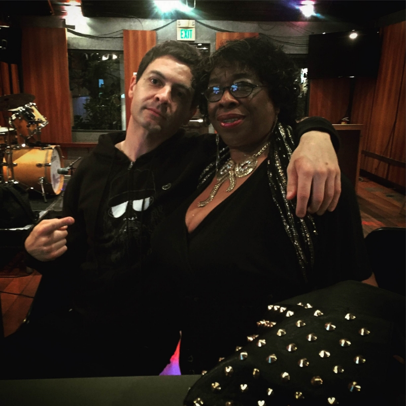 When the call comes from Lady Dottie, San Diego's number one blues diva, you take it. Photo: Camron Zibaie