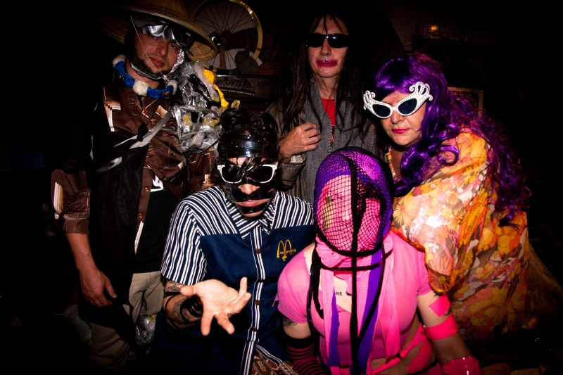 Gary Wilson and the Blind Dates, 2016. Photo: Leva Ann