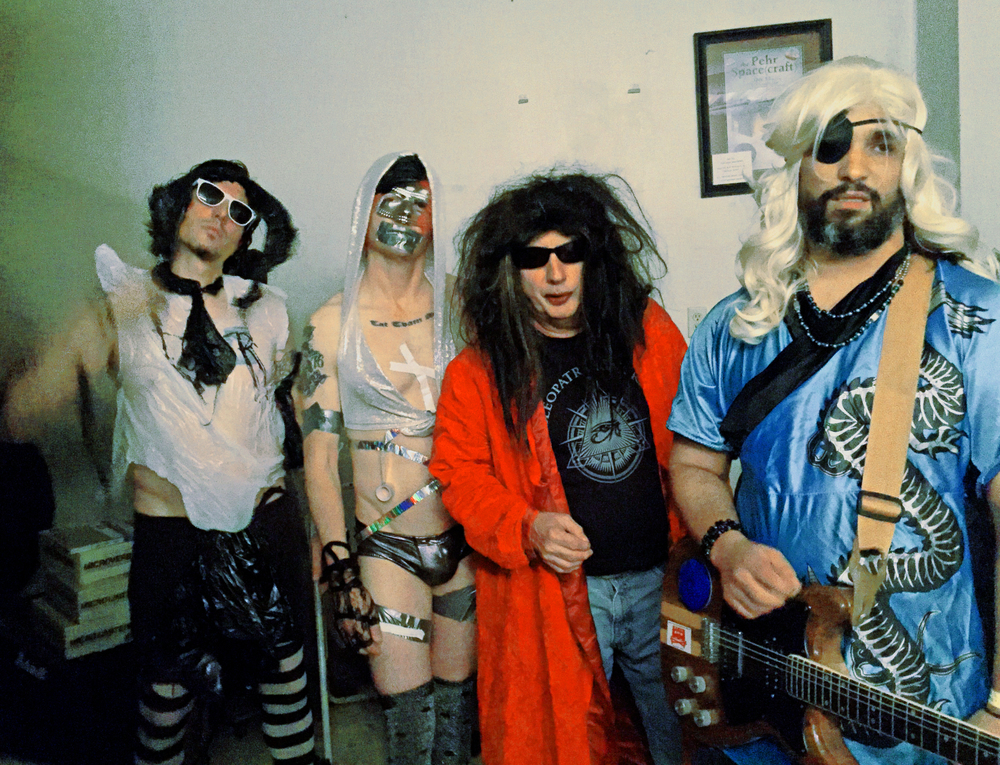 Gary Wilson and the Blind Dates (L-R: Joe Guevara, Anders Larsson, Gary Wilson, Dean Reis). Photo: Cameron Murray
