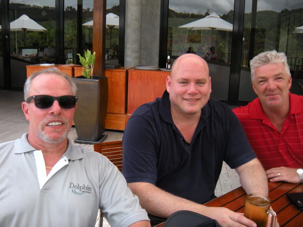 David, Derrick, and Mark