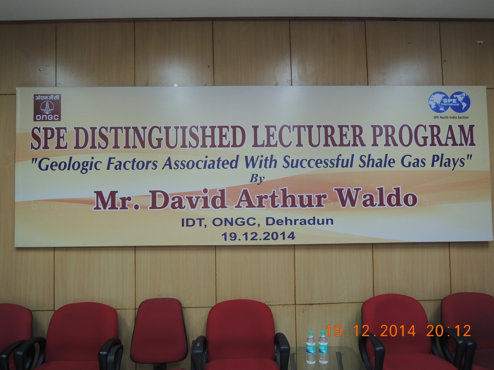 A poster about David's lecture.