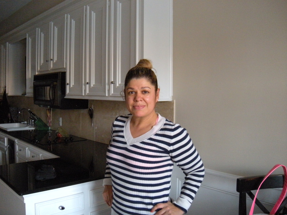 Maria's very nice. Her husband's an American citizen, as is her her daughter, whogoes to college herin Houston