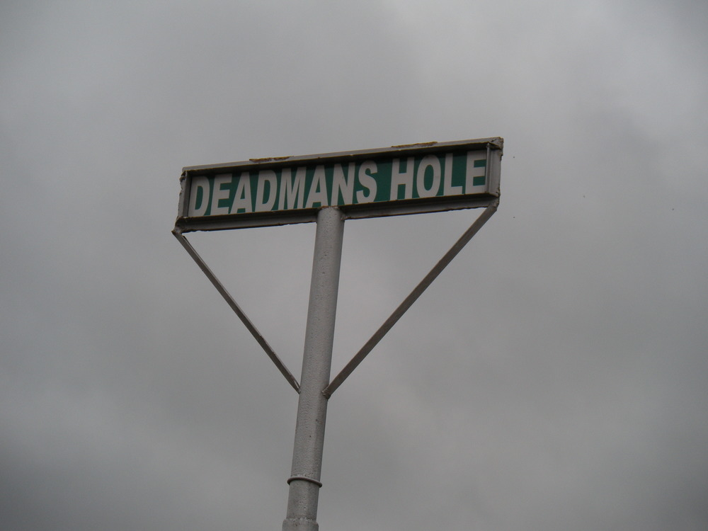 A local historic landmark, Deadman's Hole is about a quarter mile up County Road 401.