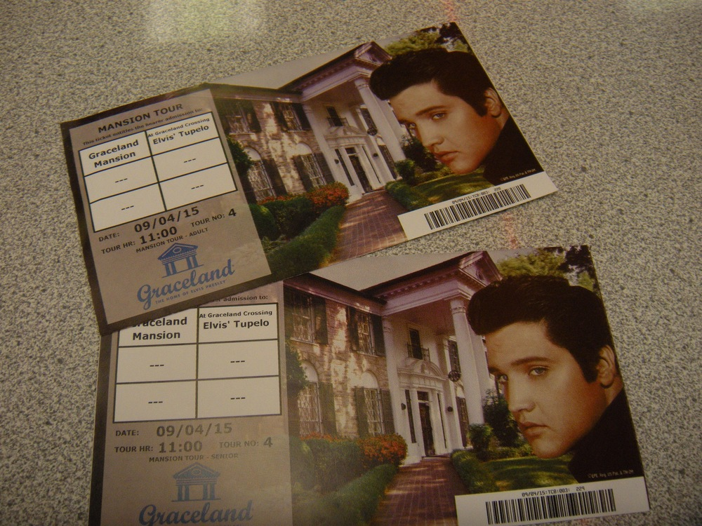Two tickets to Graceland.