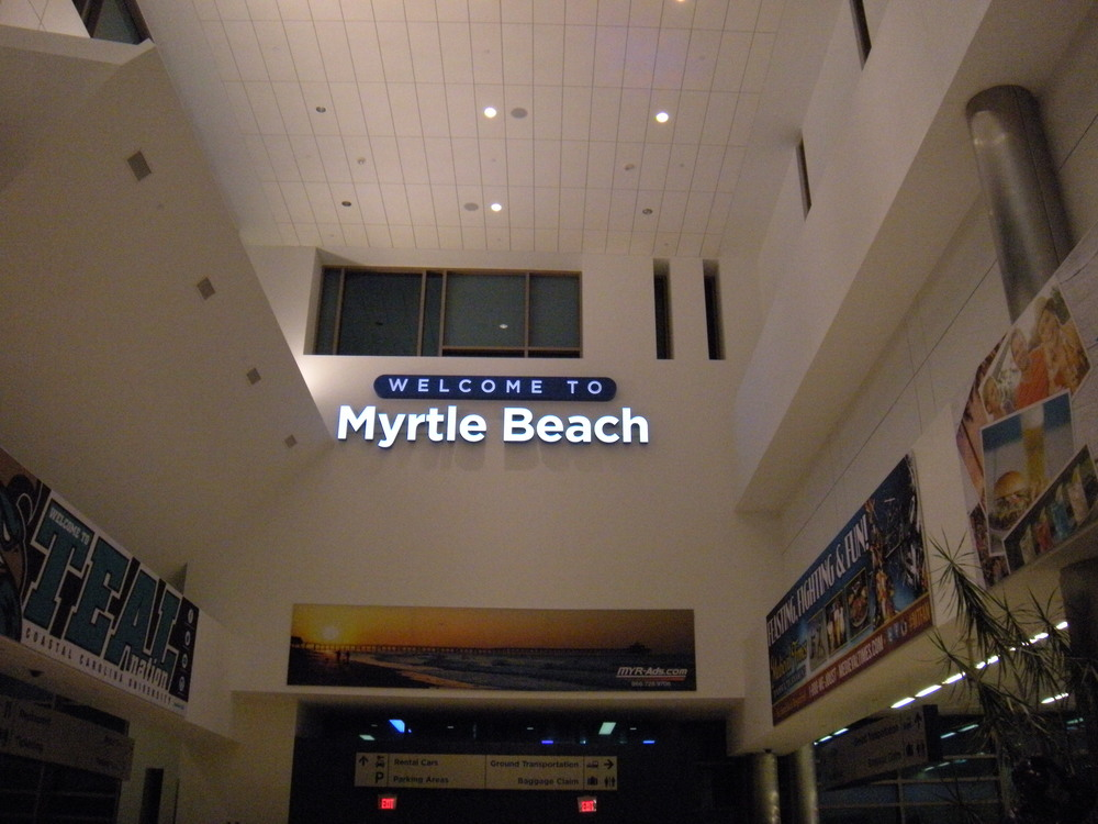 Back to Myrtle Beach.  Tomorrow we will spend the day on the beach.