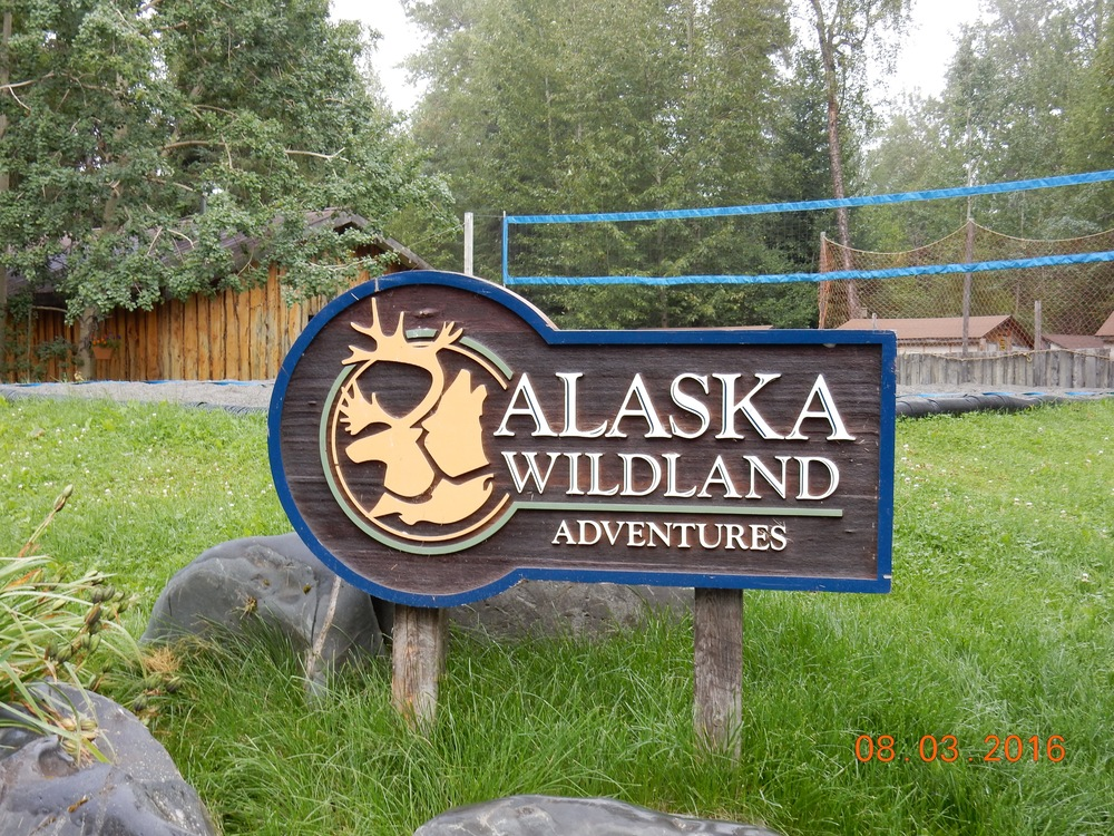 The name of our touring company for those who'd like to see Alaska.