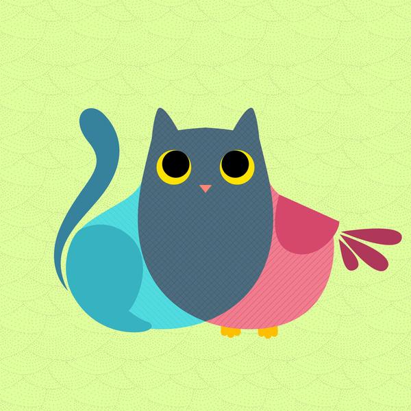 Owlcat by Sylvia Nakamura