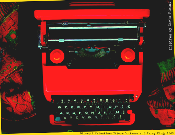 Image 1 - full typewriter - saturated5