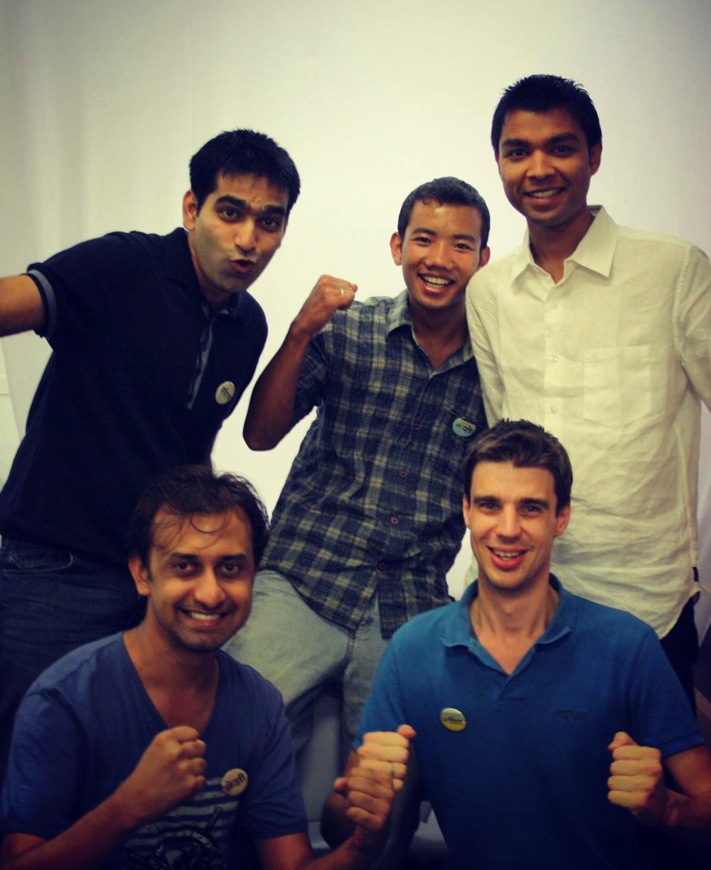 The Jip.io team in Pune, India