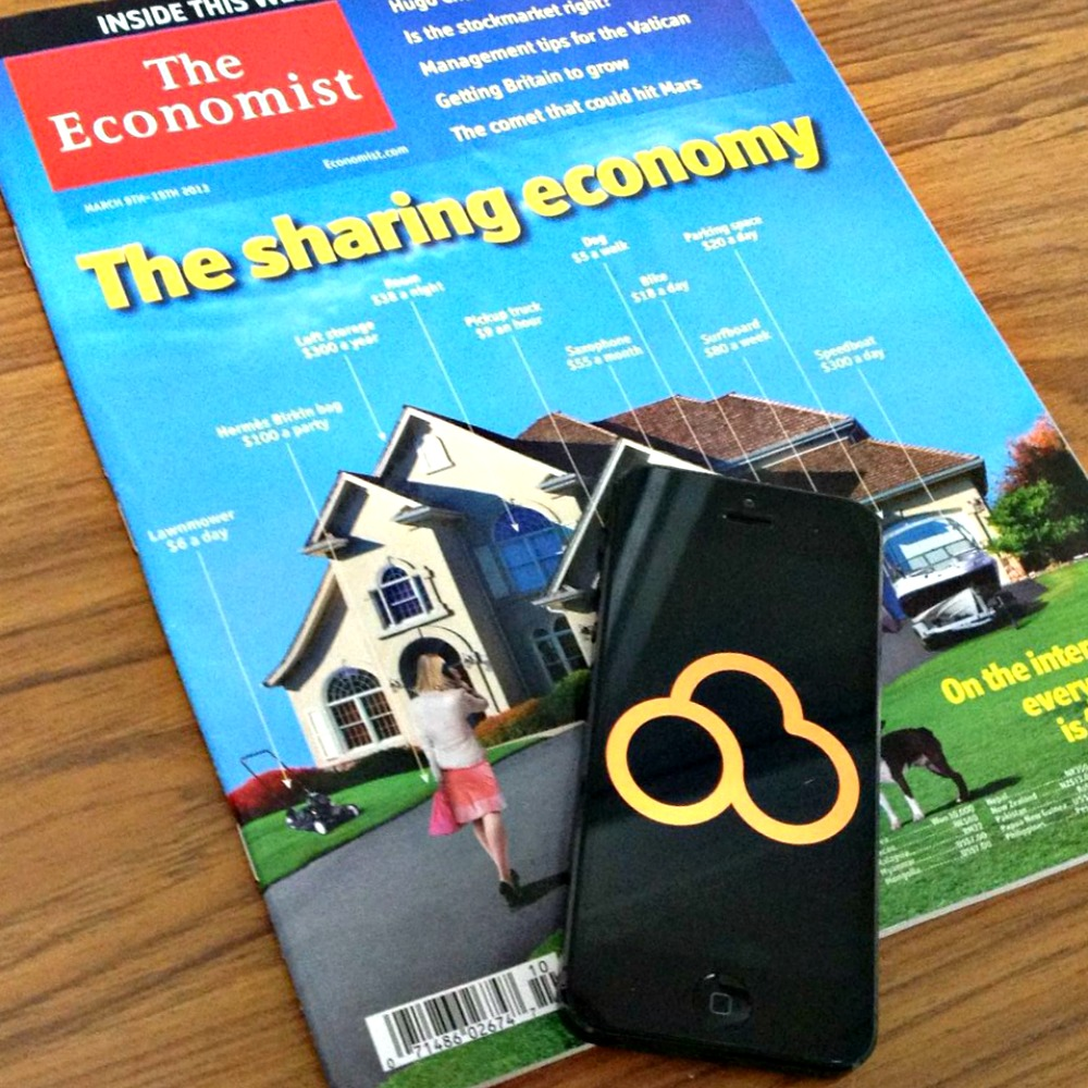 """Excellent piece in The Economiston """"The sharing economy""""."""