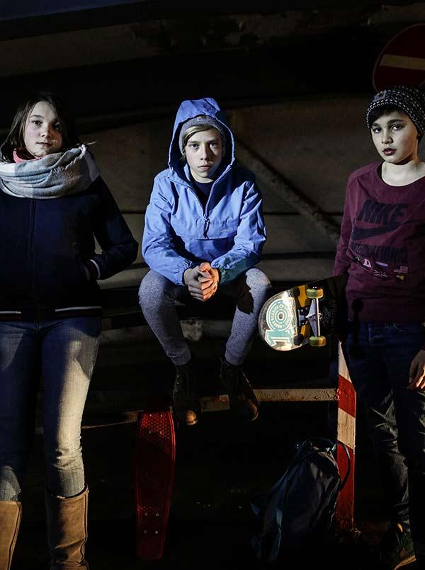 Kinder & Grenzen - Jona, Niklas & Verena