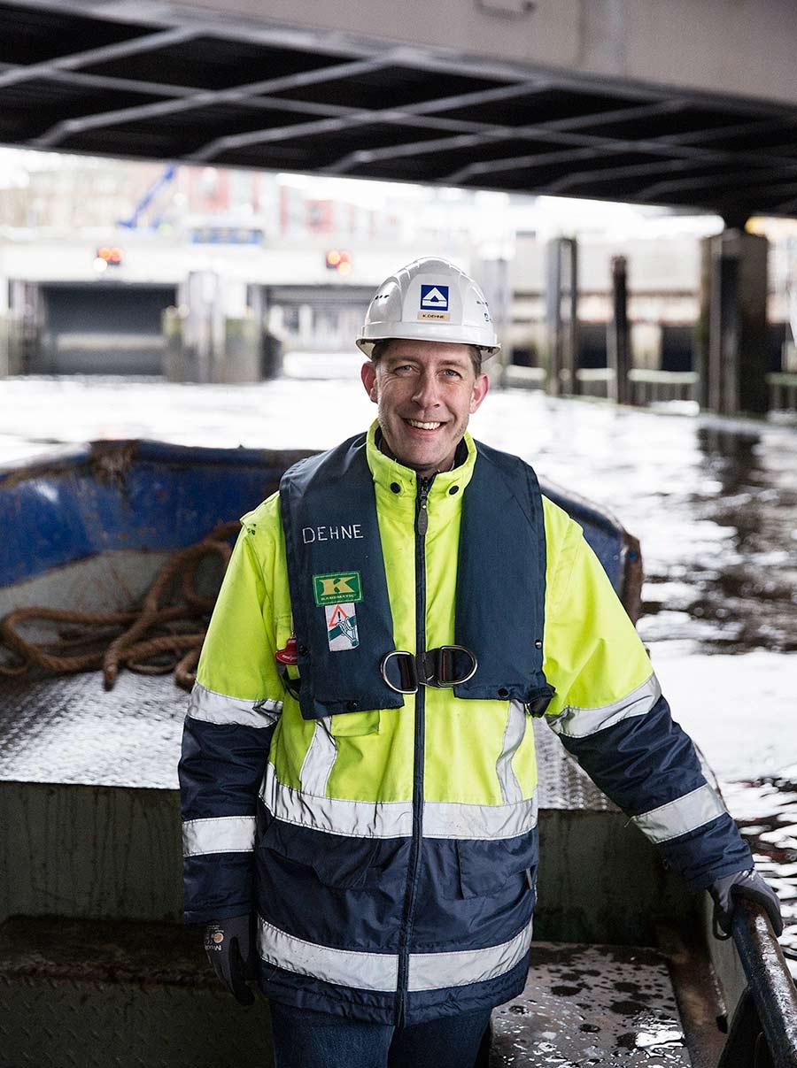 Hochwasserschutz - Hochtief, Hamburg