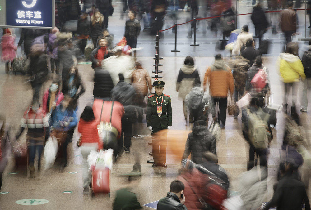 SuzieWong-A surge in passenger is testing China's railway capacity as millions head home ahead of the Spring Festival on Thursday. (2).jpg