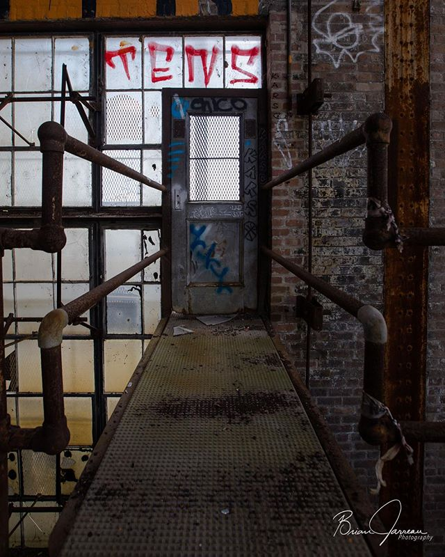 Never be afraid to take that next step, see what's on the other side of that door, walk into the unknown. • • • • • #explore #urbanexploration #decay #urbandecay #lost #abandoned #abandonedplaces #ig_urbex