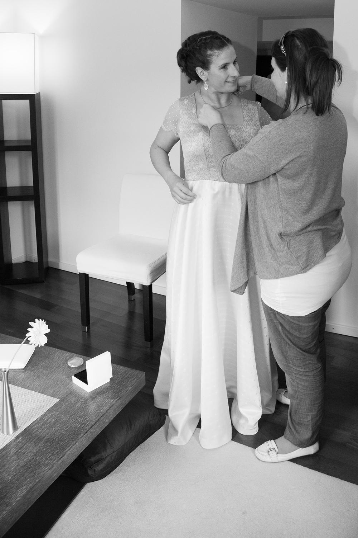Hochzeit Ankleiden