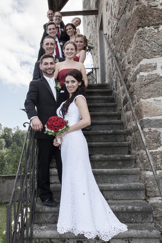 saramariawedding/hochzeit/catalinapaul/brautpaar/treppe