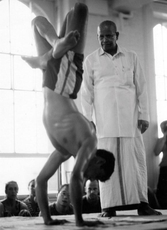 Guruji i Sharath Jois