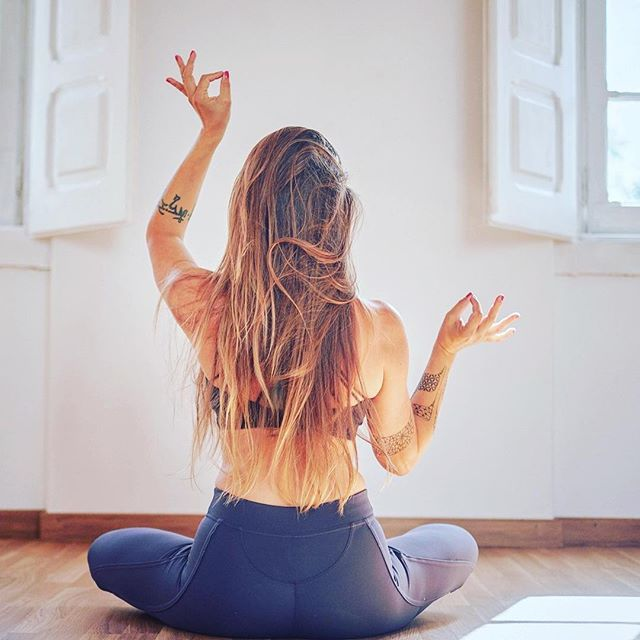 Beautiful blog about yoga as a spiritual practice by our Nina Vukas @ninavukas.yoga - link in bio. • Happy Monday Sangha! #yoga #spiritualpractice #tradition #yogateacher #yogini #yogasangha #spandayogatribe