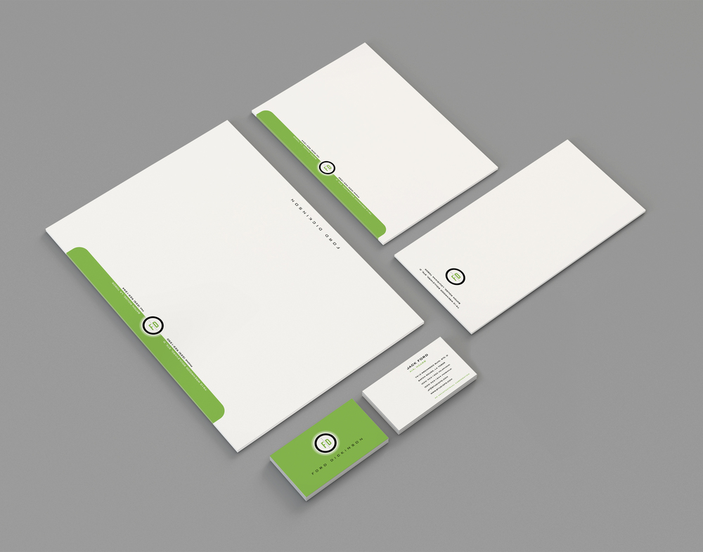 Stationery package for Ford | Dickinson Architects