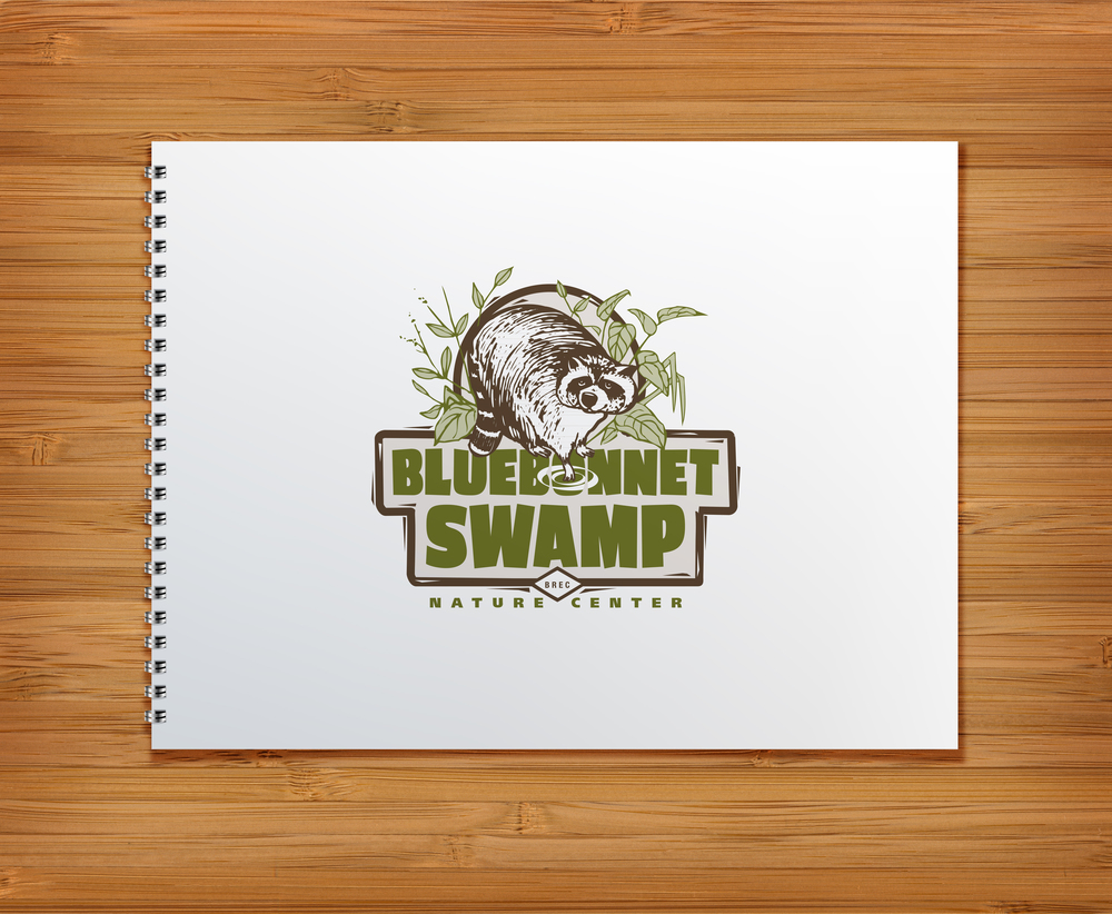 Logo Design for Bluebonnet Swamp Nature Center