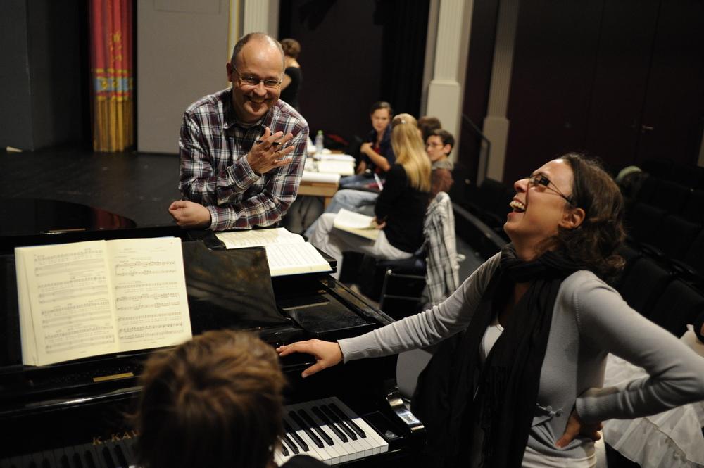 Szenische Proben zu 'Le nozze di Figaro'