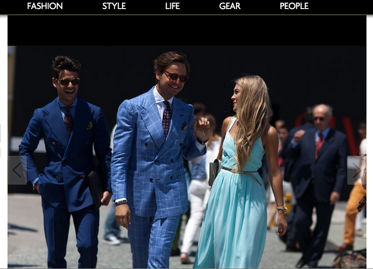 STYLE.COM/ARABIA | JUNE 2014   http://arabia.style.com/men/style/street-style/street-style-pitti-uomo-2014-day-2/#21