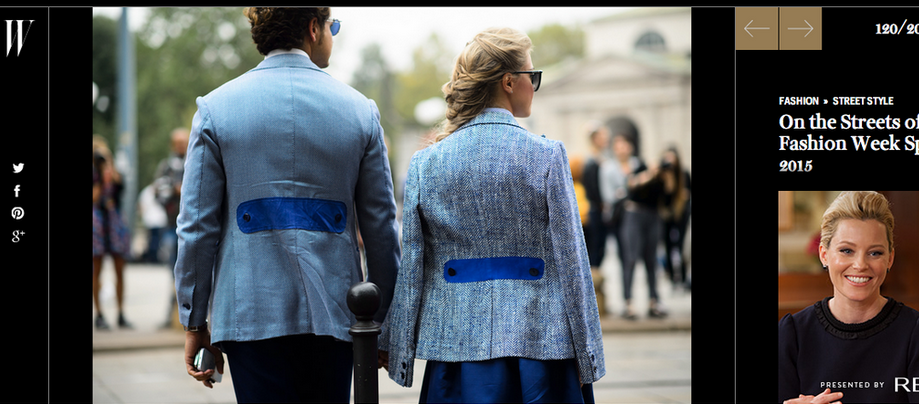 W Magazine | SEPTEMBER 2014  http://www.wmagazine.com/fashion/street-style/2014/09/milan-fashion-week-spring-2015-fashion-2/photos/slide/120