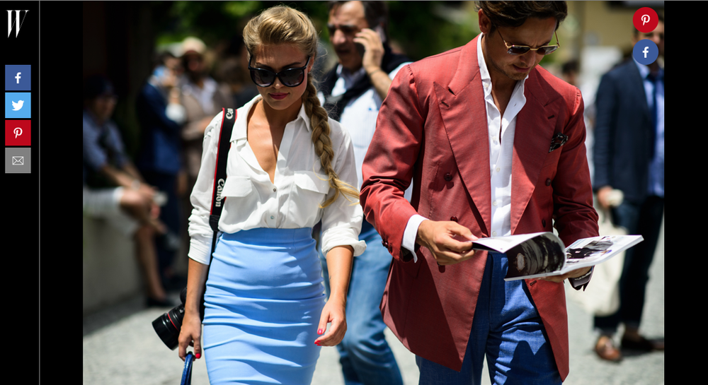 W MAGAZINE | JUNE 2015 http://www.wmagazine.com/fashion/street-style/2015/06/pitti-uomo-street-style-day-2/photos/slide/6