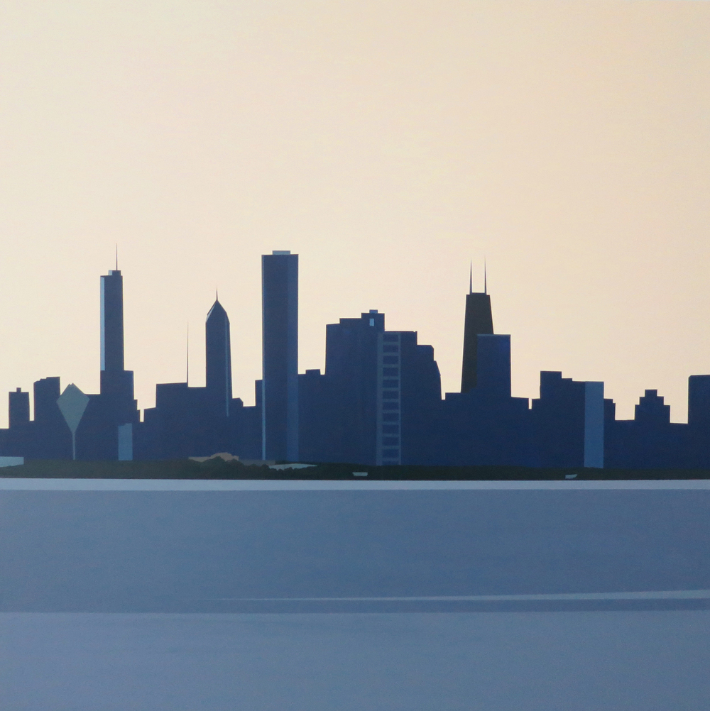 Chicago Skyline from Hyde Park