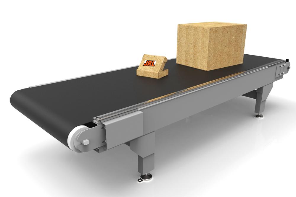 TRANSPORTÖRER JRL bygger drivna transportörer som passar lika bra i sin enkelhet som i ett komplett system.