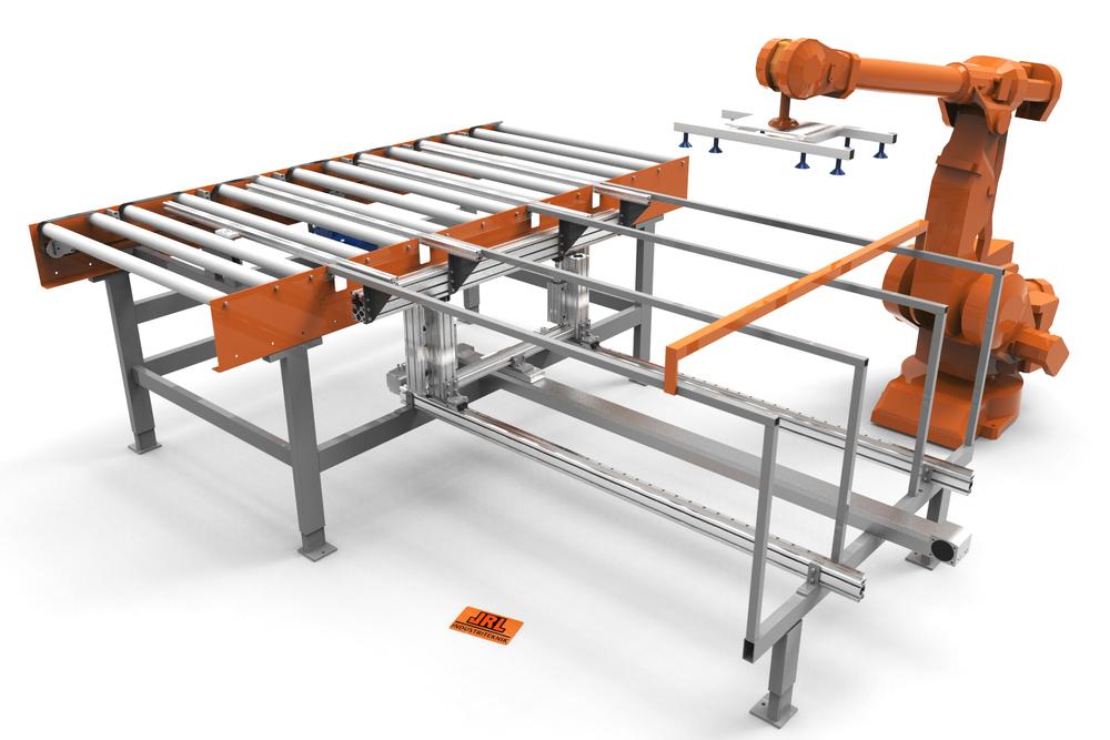 AV- OCH PÅPLOCK STANDARDMASKINER JRL har lösningar för in- och utmatning i genommatningsmaskiner framförallt i träindustrin.