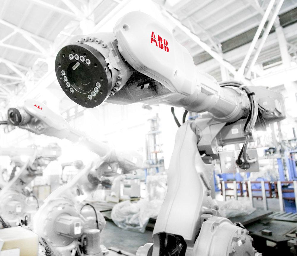 INDUSTRIAUTOMATION - Konstruktion, montage, utbildning & robotceller.Delar ur vårt erbjudande för industriautomation.